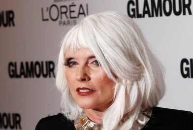 Debbie Harry arrives at the 21st annual Glamour Magazine Women of the Year award ceremony in New York