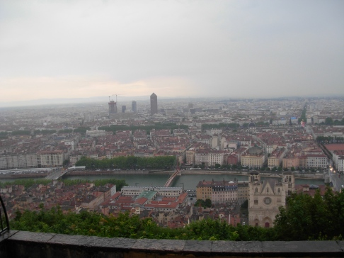 Lyon sous l'orage