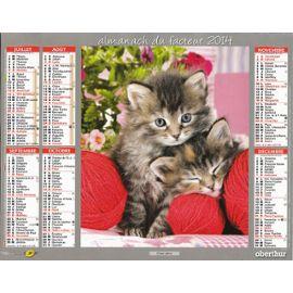 calendrier-la-poste-2014-chatons-espiegles-956309956_ML