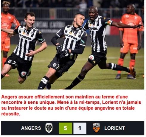 Angers sauvé